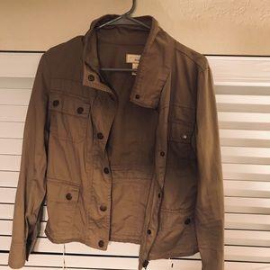 Tan Utility Jacket / Blazer